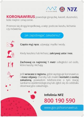 Jak zapobiegać zakażeniu koronawirusem