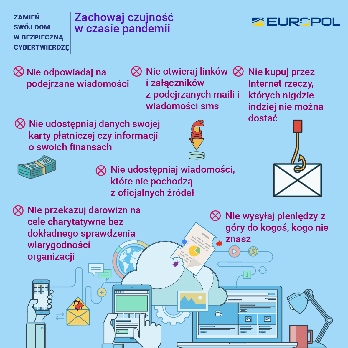 Bezpieczeństwo w domu - zachowaj czujność