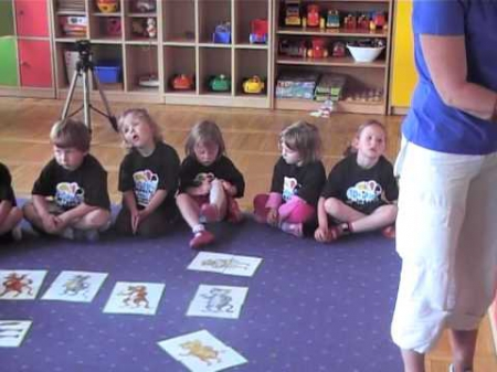 Zajęcia języka niemieckiego w przedszkolu