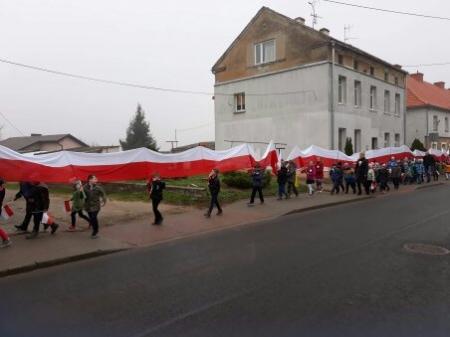 NASZA FLAGA-SPACER Z BIAŁO-CZERWONĄ
