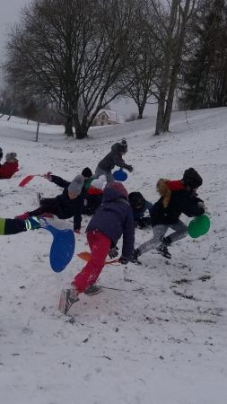 Wspomnienia -  zimowe zabawy