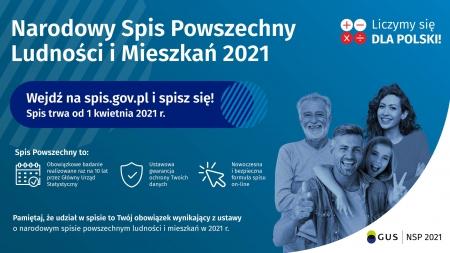 Narodowy Spis Ludności i Mieszkań 2021